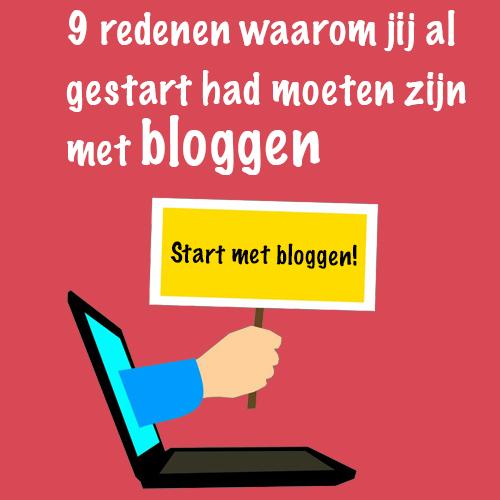 9 redenen om te starten met bloggen