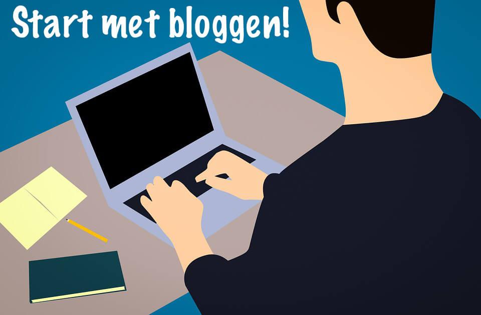 Start met bloggen