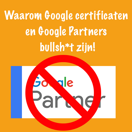 Google certificaten en partners