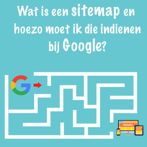 Wat is een sitemap? Hoe indienen bij Google?