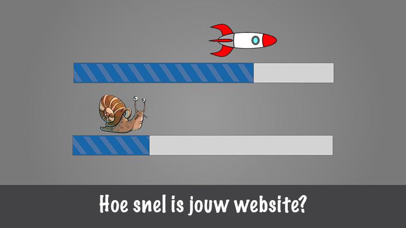 Hoe snel is jouw website?