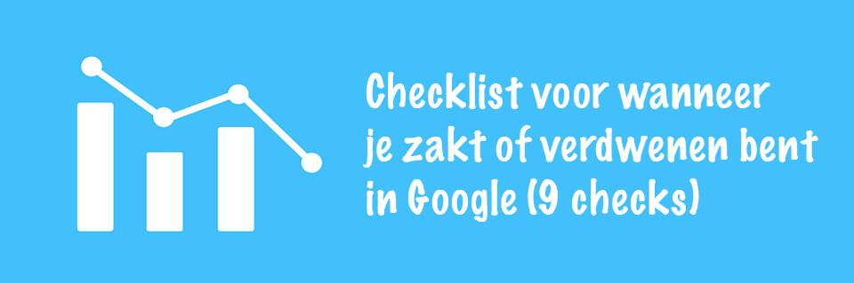 Checklist zakken google