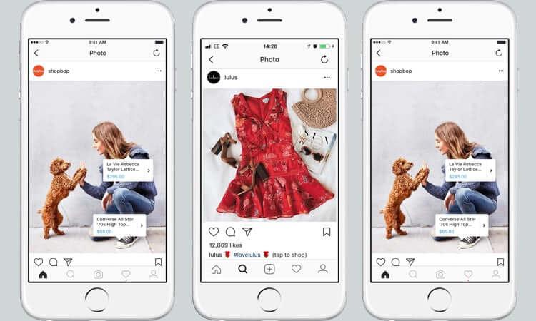 Shoppen op Instagram