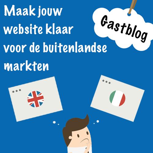 Maak je website klaar voor de buitenlandse markten