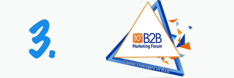 B2B Marketing Forum Evenement