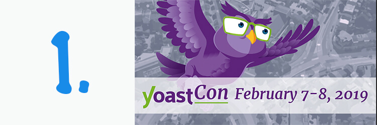Yoastcon event