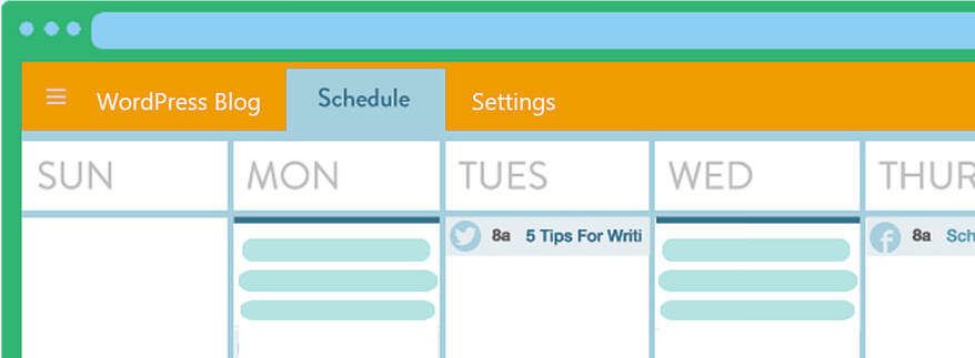 contentkalender voorbeeld