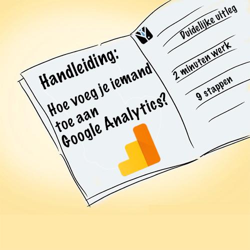 Hoe voeg je iemand toe aan Google Analytics