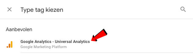 Google Analytics – Universal Analytics