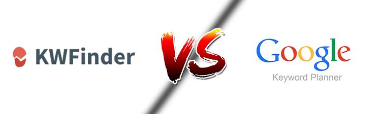 kwfinder vs google zoekwoordplanner