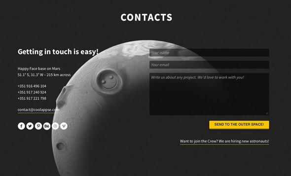 design contactformulier