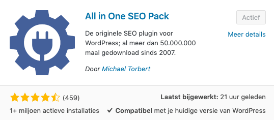 All In One SEO Pack WordPress
