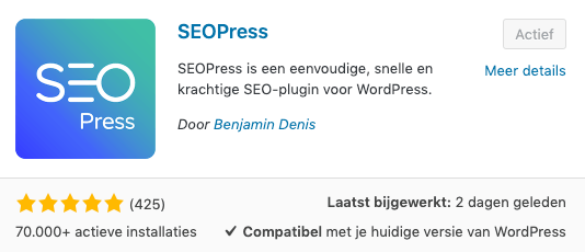Plugin SEOPress