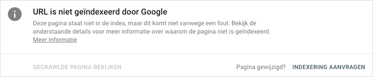 indexering aanvragen search console