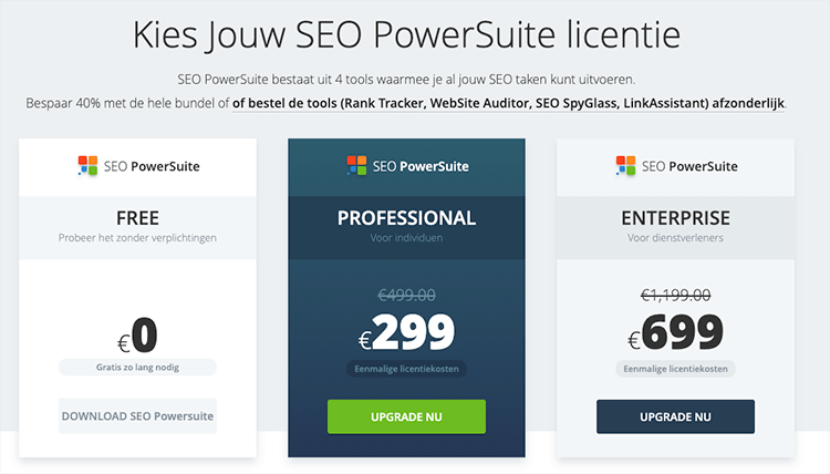seo powersuite licentie deal