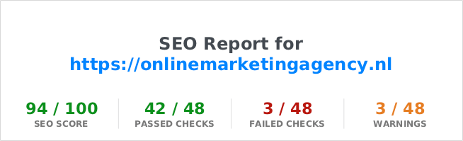 seo site check up