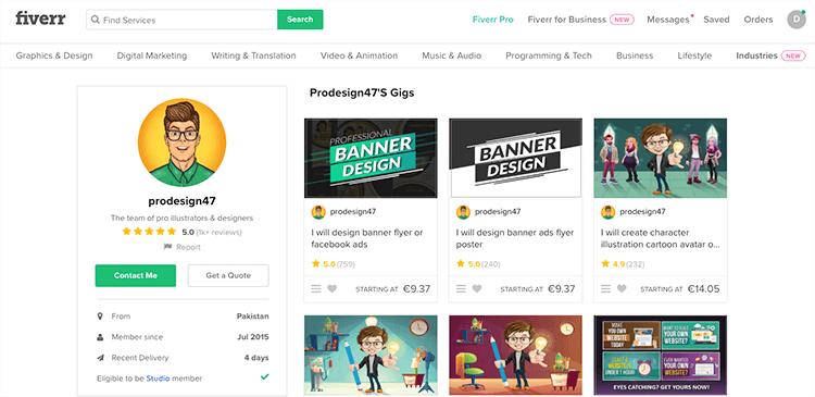 Prodesign47 freelancer