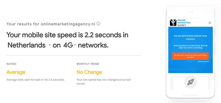 Page speed alternatief test my site