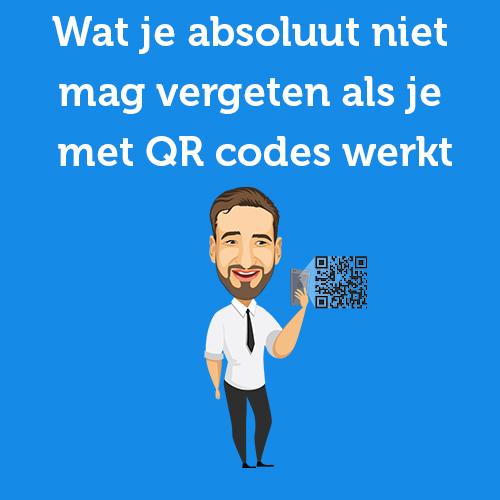 niet vergeten qr code