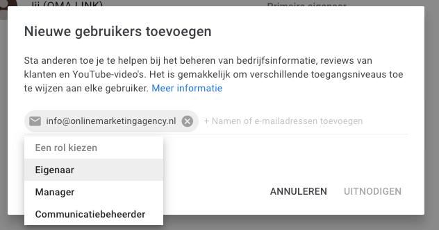 Rol toewijzen nieuwe gebruiker youtube
