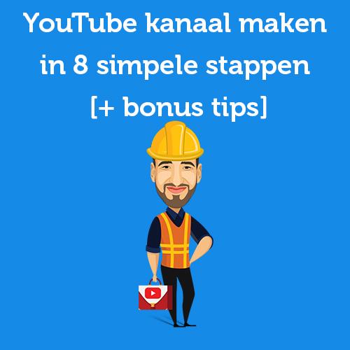 youtube kanaal maken