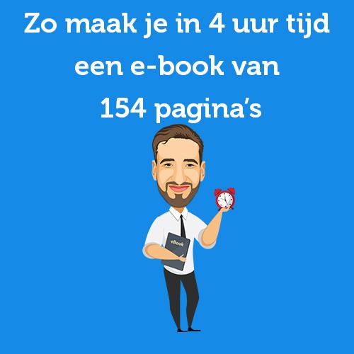 e-book in 4 uur
