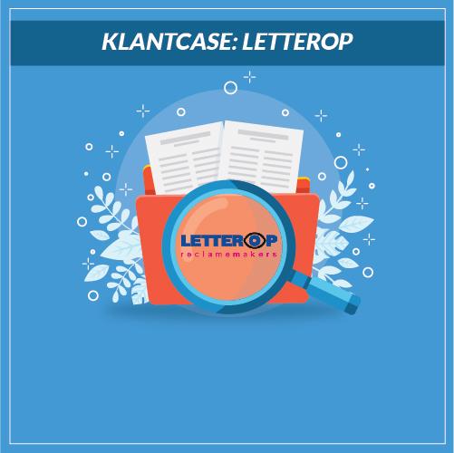 Letterop case