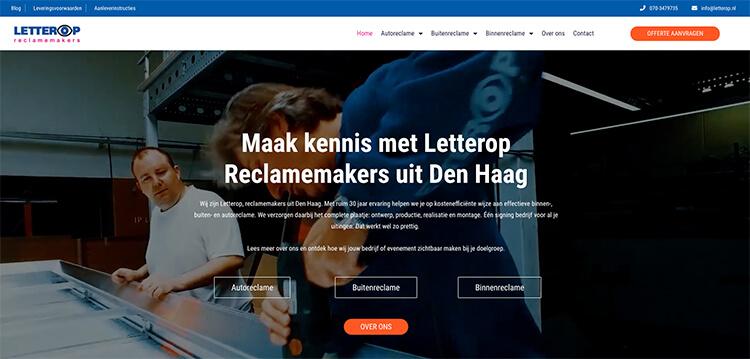 Website letterop