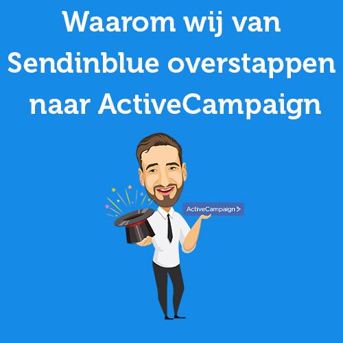 overstappen sendinblue activecampaign