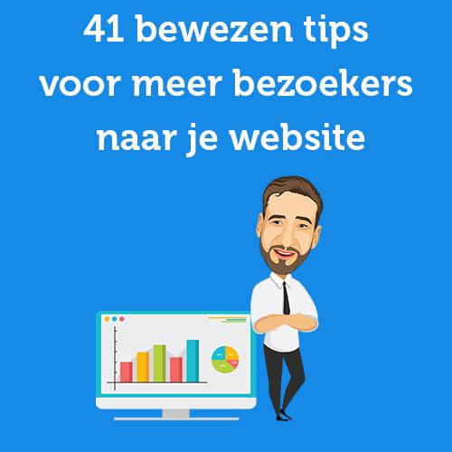 tips voor meer bezoekers naar je website