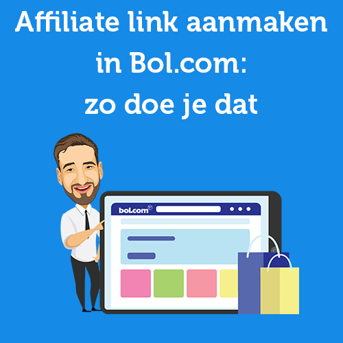 Affiliate link aanmaken in Bol.com