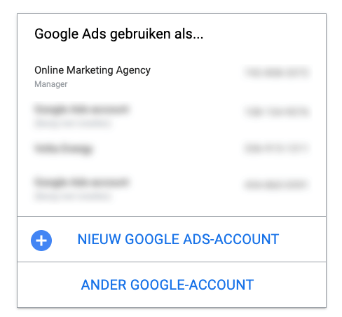 Google ads code