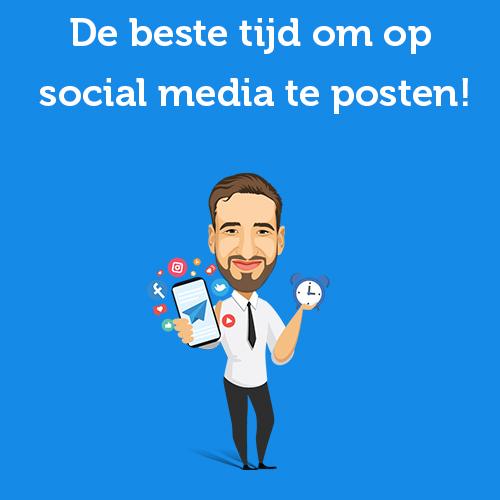 De beste tijd om op social media te posten!