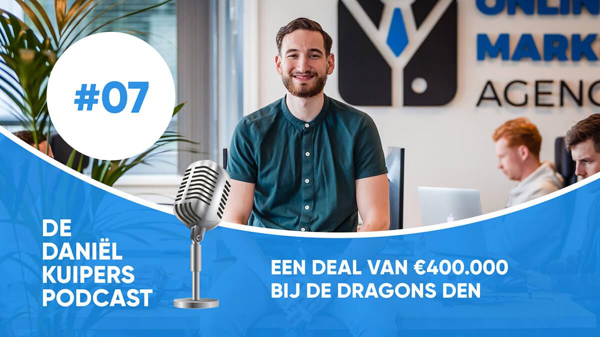 Een deal van €400.000 bij Dragons Den