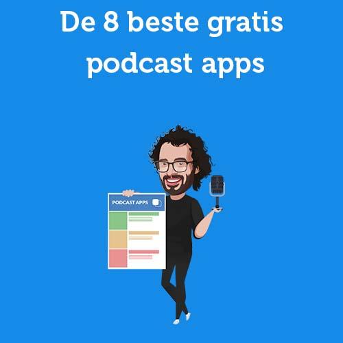De 8 beste gratis podcast apps
