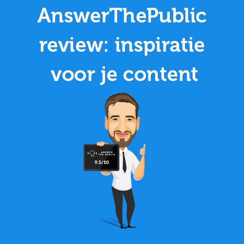 AnswerThePublic review 2021: Inspiratie voor je content (strategie)
