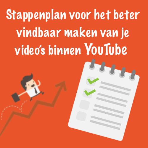 YouTube SEO: Stappenplan voor het beter vindbaar maken van je video's binnen YouTube